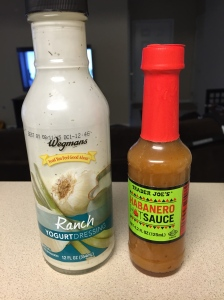 yogurt ranch dressing hot sauce