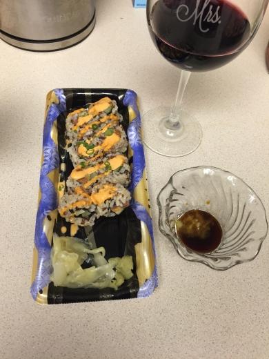 wegman's sushi
