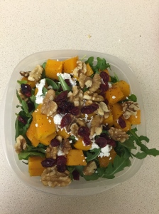 butternut goat cheese salad