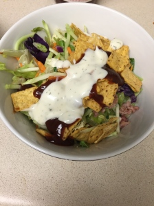 BBQ Ranch side salad