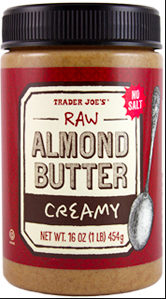 Trader Joe's Raw Almond Butter
