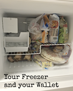 freezer and wallet