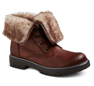 trina shearling style boots